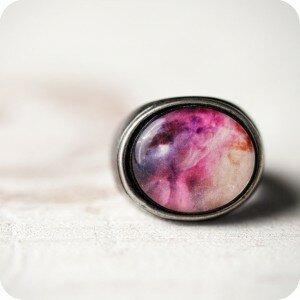 Кольцо Nebula Pink