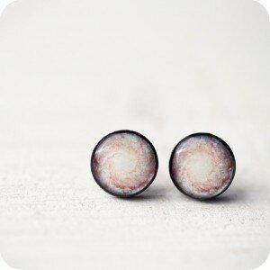 Серьги Nebula Blue (гвоздики)