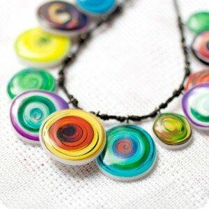 Бусы Color Swirl