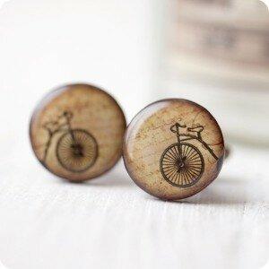 Запонки Велосипеды